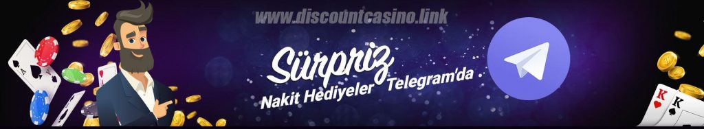 Discount Casino131 Giriş - Telegram Sürpriz Hediyeler